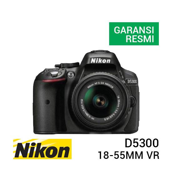 jual kamera Nikon D5300 Kit AF-S 18-55mm VR harga murah surabaya jakarta