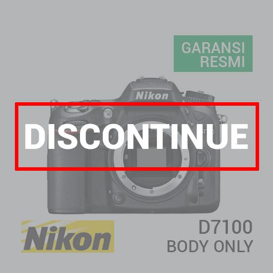jual kamera Nikon D7100 Body harga murah surabaya jakarta