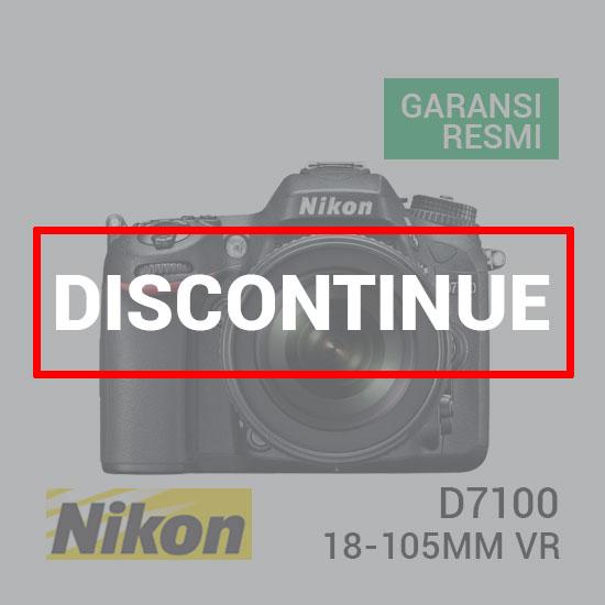 jual kamera Nikon D7100 Kit with AF-S 18-105mm VR harga murah surabaya jakarta