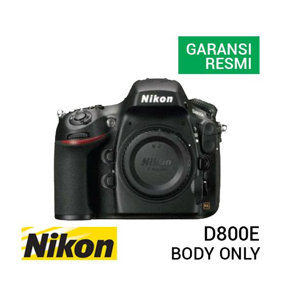 jual kamera Nikon D800E Body harga murah surabaya jakarta