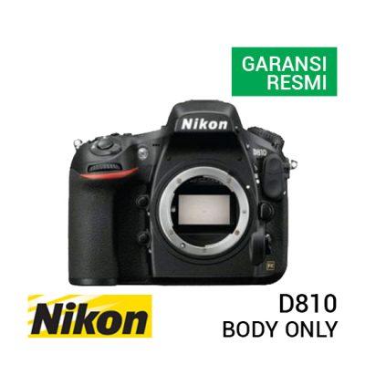 jual kamera Nikon D810 Body harga murah surabaya jakarta