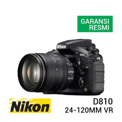 jual kamera Nikon D810 Kit AF-S VR 24-120mm F4G ED harga murah surabaya jakarta