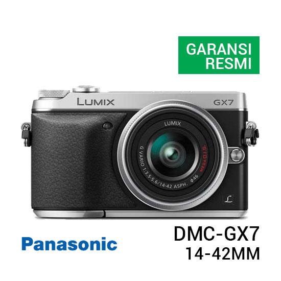 jual kamera Panasonic Lumix DMC-GX7 Kit 14-42mm f3.5-5.6 harga murah surabaya jakarta