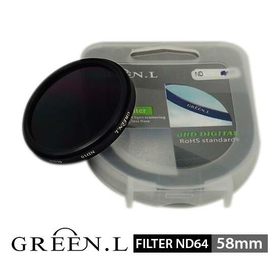 Jual Green L Filter ND64 Filter 58mm surabaya jakarta