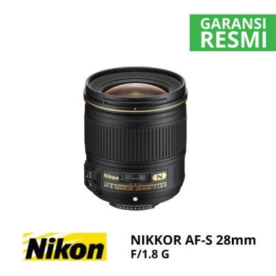 jual Nikon AF-S 28mm f/1.8G