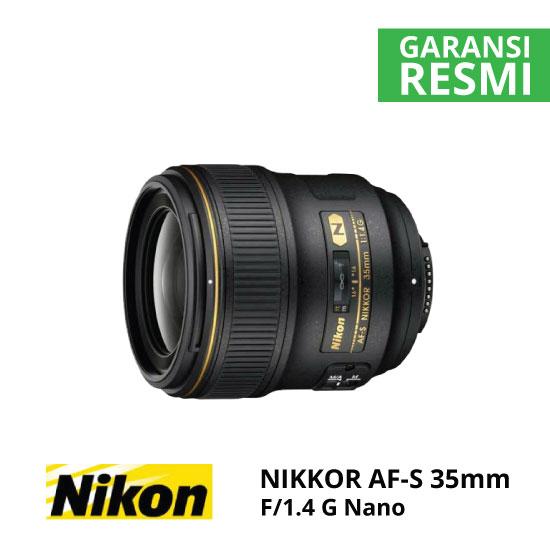 jual Nikon AF-S 35mm f/1.4G Nano