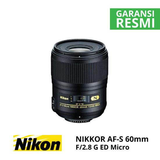 jual Nikon AF-S 60mm f/2.8G ED Micro