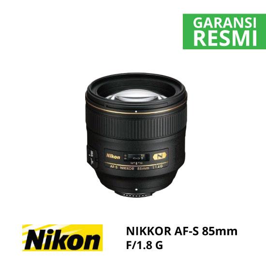 jual Nikon AF-S NIKKOR 85mm f/1.8G