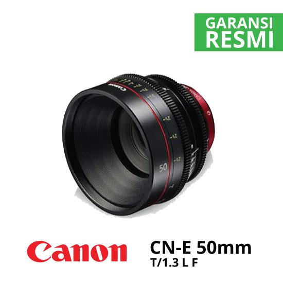 jual Canon CN-E50mm T1.3 L F