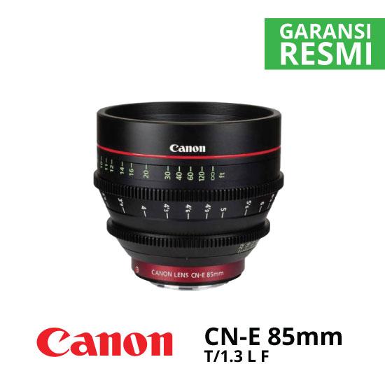 jual Canon CN-E85mm T1.3 L F