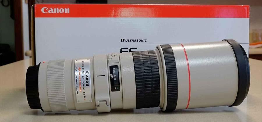 jual Canon EF 400 mm f/5.6L USM