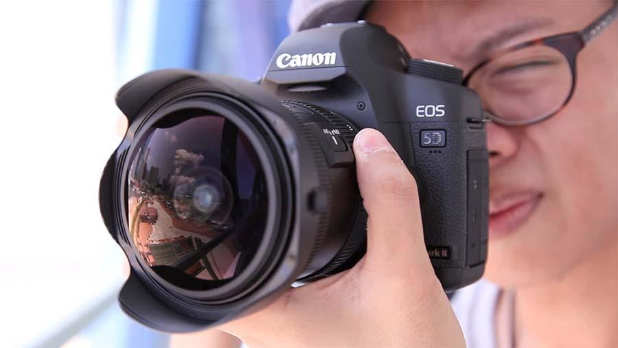 jual Canon EF 8-15mm f/4L USM Fisheye