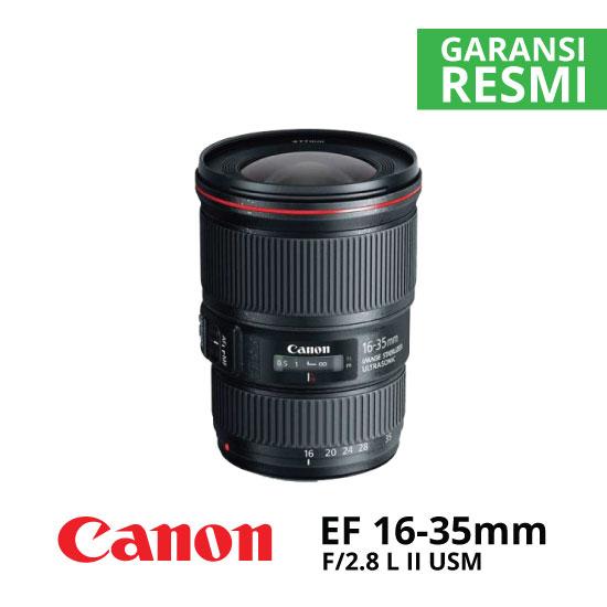 jual Canon EF 16-35mm f/2.8L II USM
