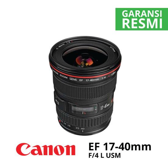 jual Canon EF 17-40mm f/4L USM