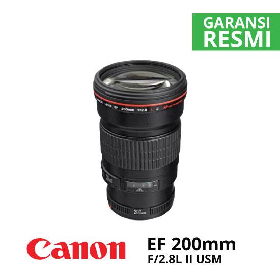 jual Canon EF 200mm f/2.8L II USM