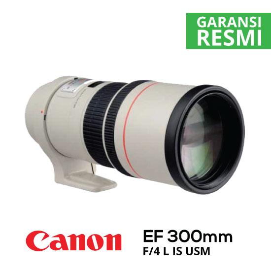 jual Canon EF 300mm f/4L IS USM