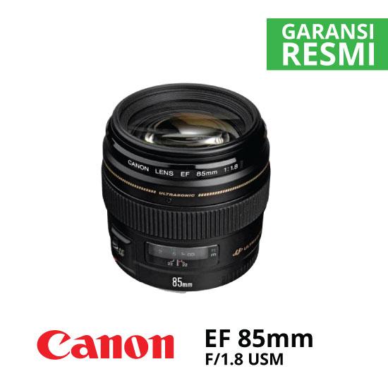 jual Canon EF 85mm f/1.8 USM