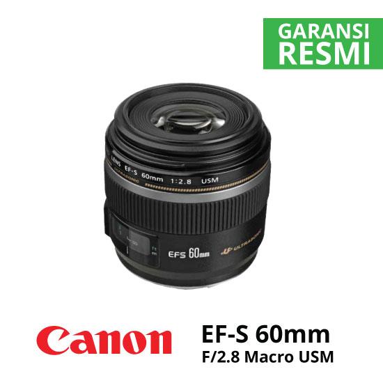 jual Canon EF-S 60 f/2.8 Macro USM
