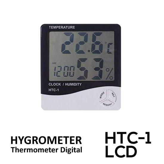 Jual Hygrometer Thermometer Digital LCD HTC-1 surabaya jakarta