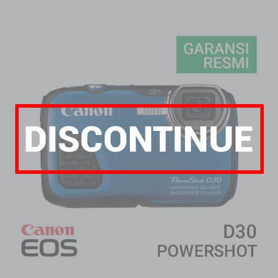 jual kamera Canon PowerShot D30 harga murah surabaya jakarta