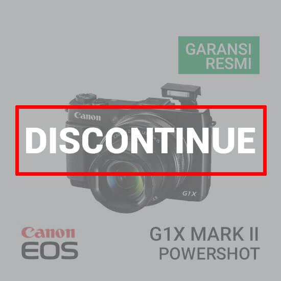 jual kamera Canon PowerShot G1X Mark II harga murah surabaya jakarta