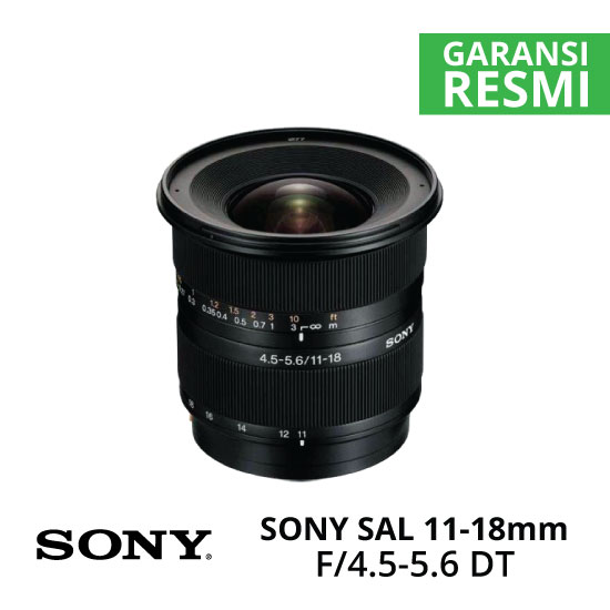 Jual Lensa SONY SAL 11-18mm F4.5-5.6 DT Harga Murah Surabaya & Jakarta