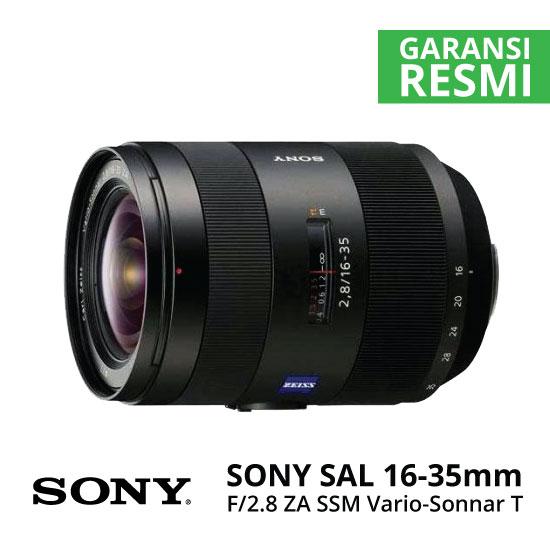 Jual Lensa SONY SAL 16-35mm F2.8 ZA SSM Carl Zeiss Vario-Sonnar T* Harga Murah Surabaya & Jakarta