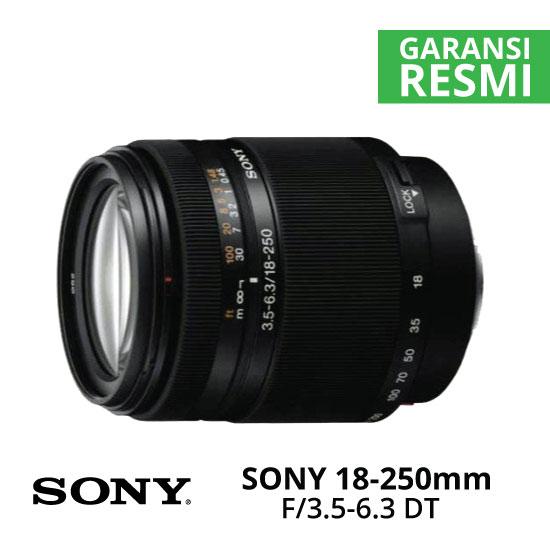 Jual Lensa SONY SAL 18-250mm F3.5-6.3 DT Harga Murah Surabaya & Jakarta