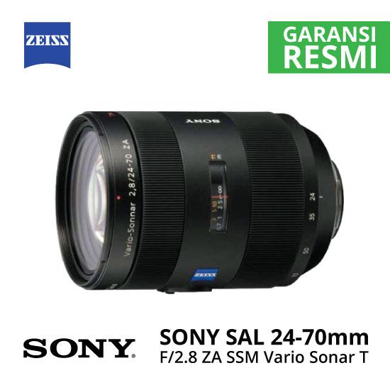 Jual Lensa SONY SAL 24-70mm F2.8ZA SSM Carl Zeiss Vario Sonar T* Harga Murah Surabaya & Jakarta