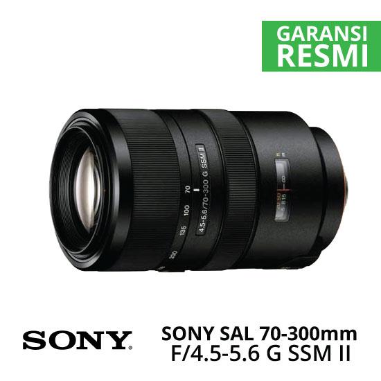 Jual Lensa SONY SAL 70-300mm F4.5-5.6 G SSM II Harga Murah Surabaya & Jakarta