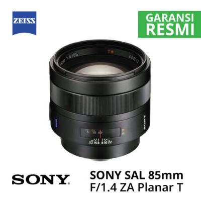 Jual Lensa SONY SAL 85mm f1.4 ZA Carl Zeiss Planar T* Harga Murah Surabaya & Jakarta