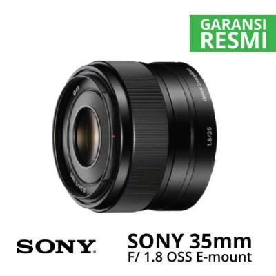 Jual Lensa Sony 35mm f/1.8 OSS Alpha E-mount Prime Harga Murah Surabaya & Jakarta