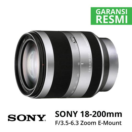 Jual Lensa Sony E-Mount 18-200mm f/3.5-6.3 Zoom Harga Murah Surabaya & Jakarta