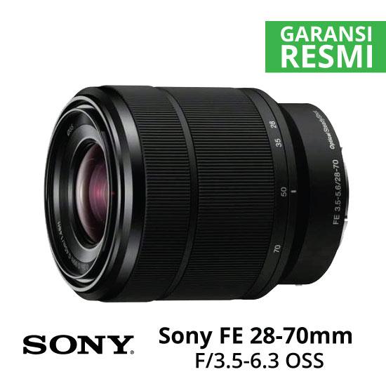 Jual Lensa Sony FE 28-70mm f/3.5-5.6 OSS Harga Murah Surabaya & Jakarta