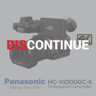 Panasonic HC-X1000GC-K Black