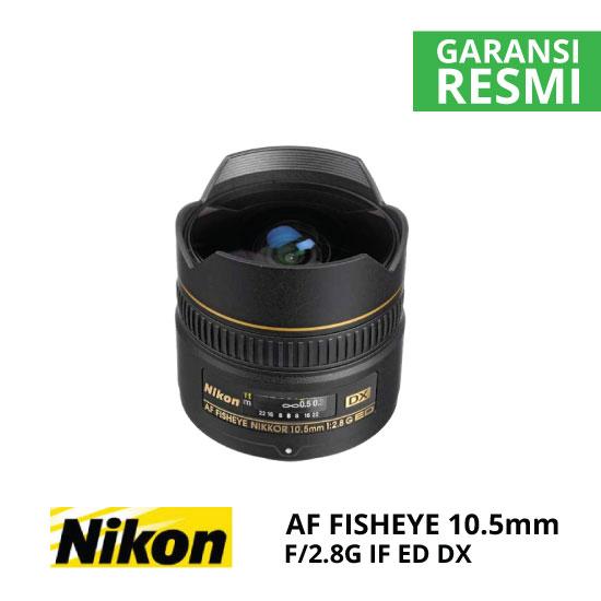 jual Nikon AF 10.5mm f/2.8G IF ED DX Fisheye