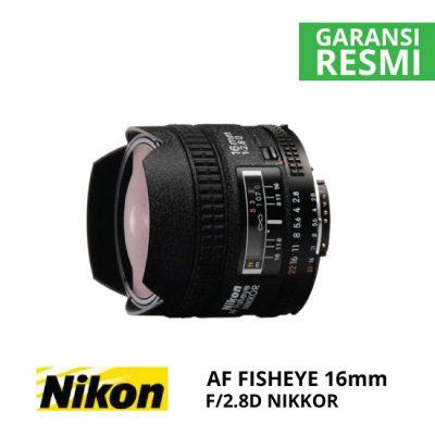 jual Nikon AF 16mm f/2.8D Fisheye