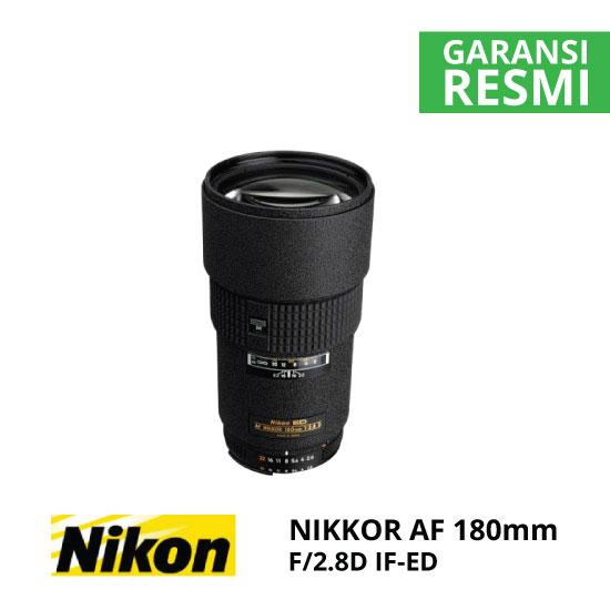 jual Nikon AF 180mm f/2.8D IF-ED NIKKOR