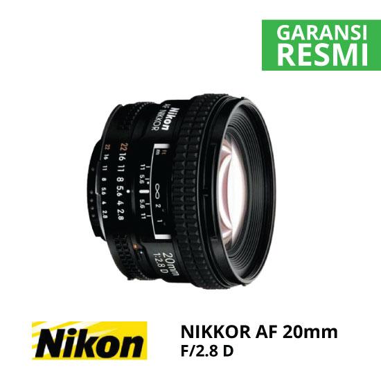 JUAL Nikon AF 20mm f/2.8D
