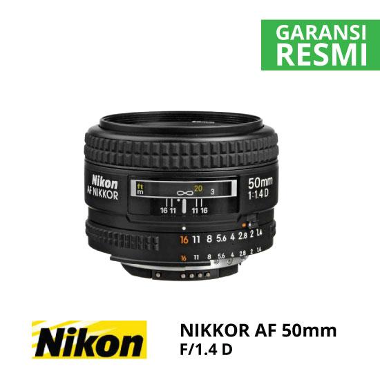 jual Nikon AF 50mm f/1.4D