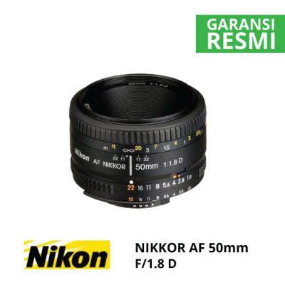 jual Nikon AF 50mm f/1.8D