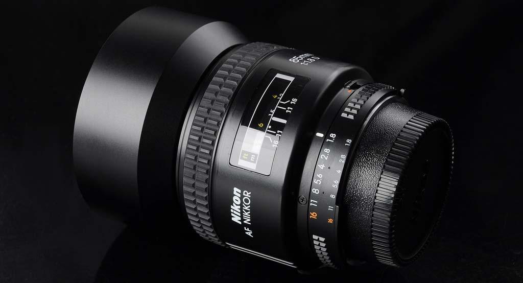 jual Nikon AF Nikkor 85mm f/1.8D