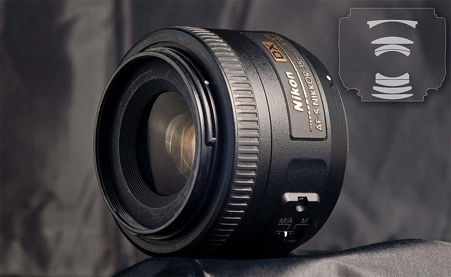 jual Nikon AF-S DX 35mm f/1.8G