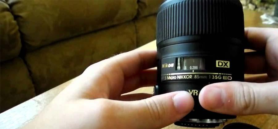 jual Nikon AF-S NIKKOR 85mm f/3.5G ED DX VR Micro