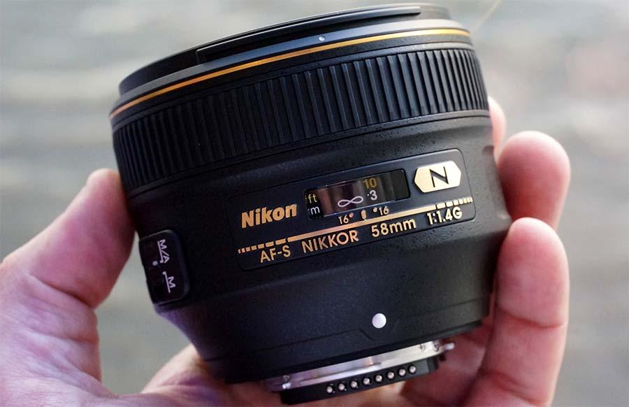 jual Nikon AF-S Nikkor 58mm f/1.4G