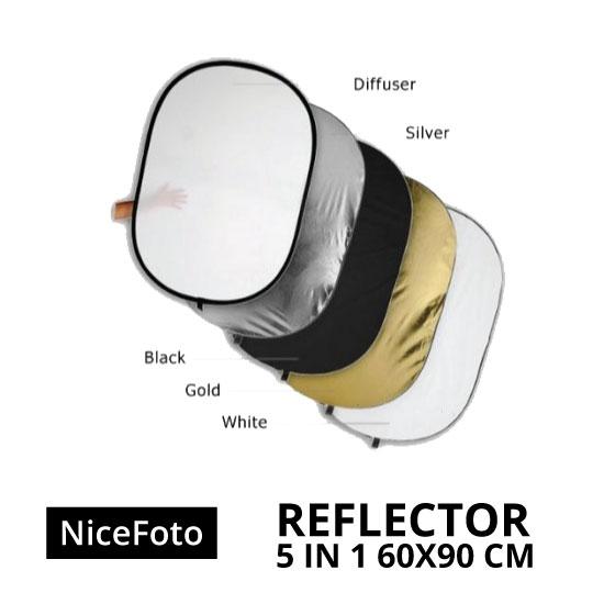jual Reflector 5in1 60x90cm