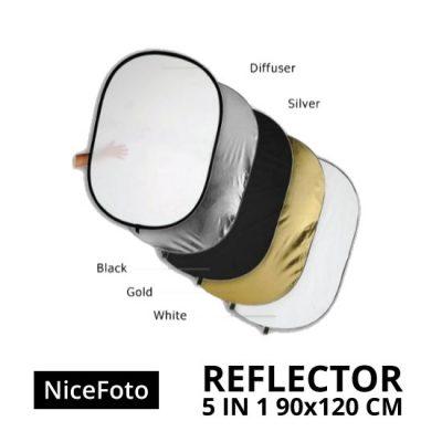 jual Reflector 5in1 90x120cm