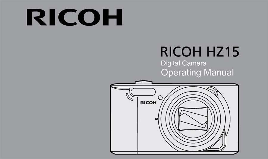jual Ricoh HZ15 Digital Camera