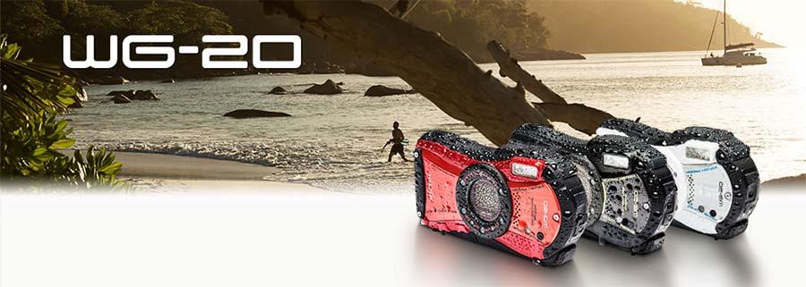 jual Ricoh WG-20 Digital Camera