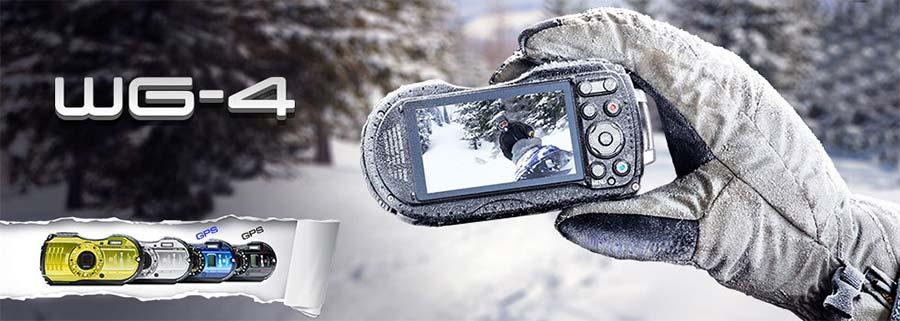 jual Ricoh WG-4 GPS Digital Camera